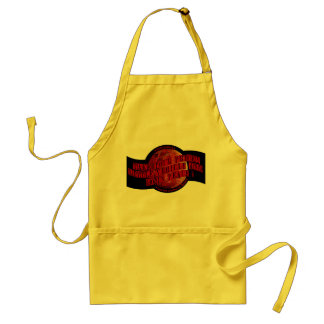 Red Planet Adult Apron