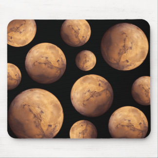 Red Planet Mars Mouse Pad