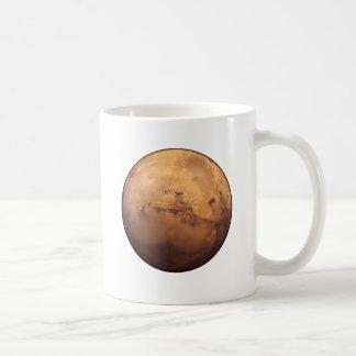 Red Planet Mars Classic White Coffee Mug