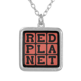 Red Planet, Mars Necklaces
