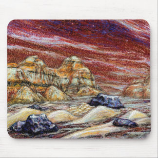 Red Planet Mousepad