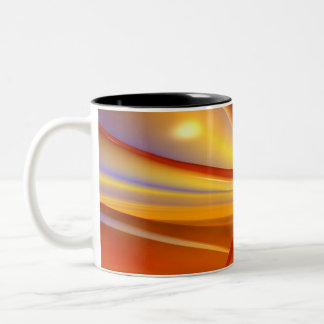 Red Planet Two-Tone Coffee Mug