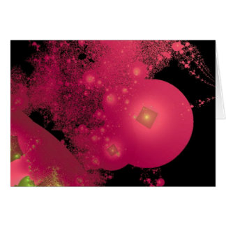 Red Planets Card