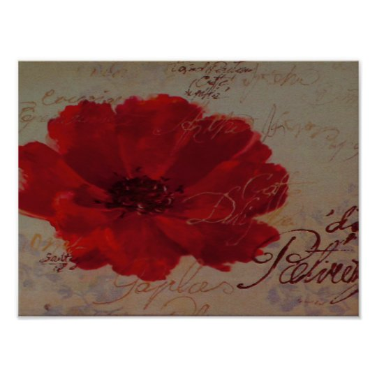 Red Plantes ~ Print / Poster