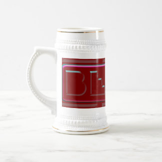 Red Plastic Banana BEERS Brewing Company Beer Stein
