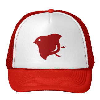 red plover trucker trucker hat