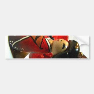 Red Plum I Bumper Sticker