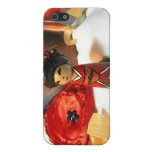 Red Plum Kokeshi Case For iPhone 5
