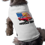Red Plymouth Barracuda Doggie T Shirt