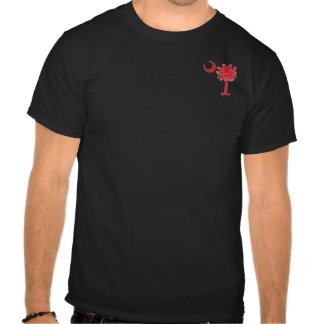 Red Pocket Palmetto Tee Shirts