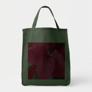 Red Poinsettia Bag