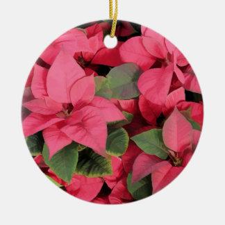 Red Poinsettia Ornament