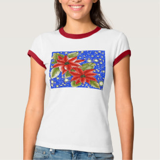 Red Poinsettia Shirt