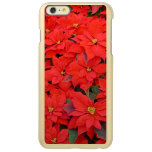 Red Poinsettias I Christmas Holiday Floral Photo Incipio Feather® Shine iPhone 6 Plus Case