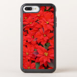 Red Poinsettias I Christmas Holiday Floral Photo Speck iPhone Case