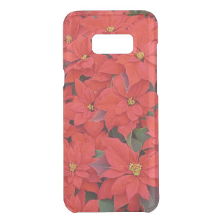 Red Poinsettias I Christmas Holiday Floral Photo Uncommon Samsung Galaxy S8+ Case