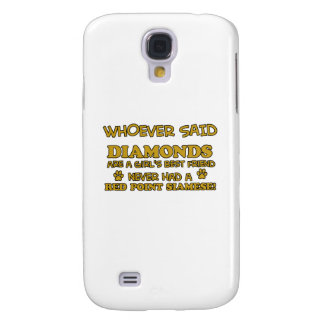 Red Point Siamese cat breed designs Samsung Galaxy S4 Cover