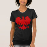 Red Polish Eagle Tee Shirts