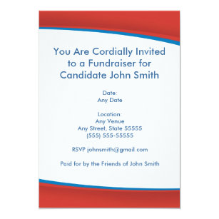 red political invite