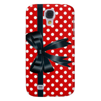 Red Polka Dot Cell Phone Case