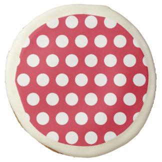Red Polka Dot Cookies