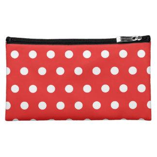 Red Polka Dot Cosmetic Bag