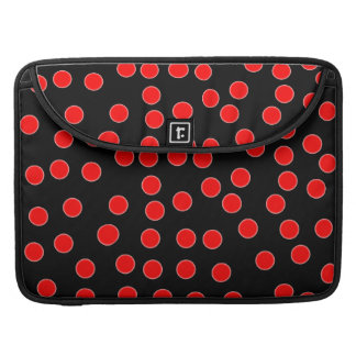 Red Polka Dot Mac Book Cover Sleeves For MacBooks