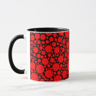 Red Polka Dots Mug