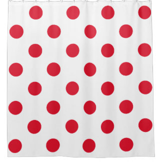 Polka Dots Shower Curtains