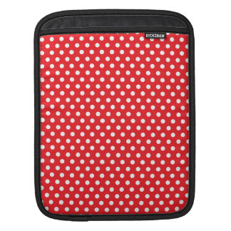 Red polkadot dream sleeve for iPads