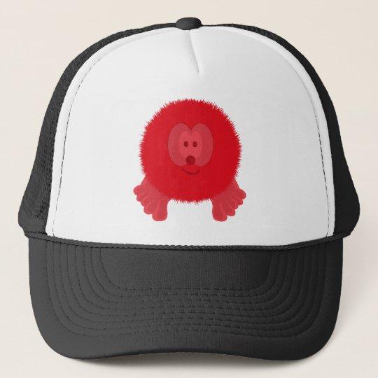 Red Pom Pom Pal Hat