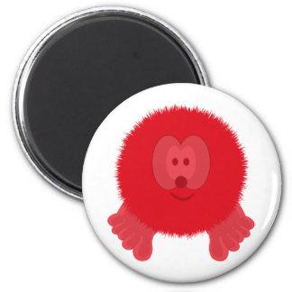 Red Pom Pom Pal Magnet