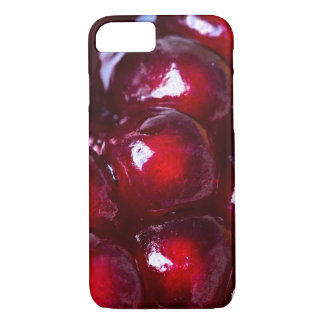 Red Pomegranate Seeds iPhone 7 Case