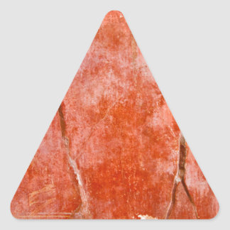 Red Pompeii Triangle Sticker