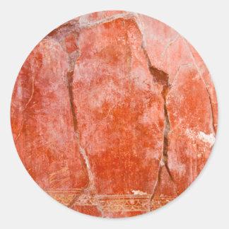 Red Pompeii Sticker