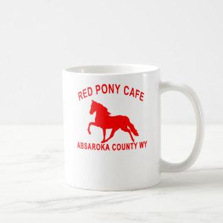 RED PONY CAFE COFFEE MUG