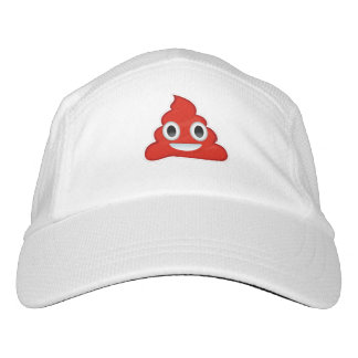 Red Poo - -  Headsweats Hat