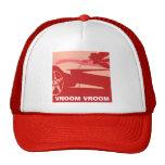 Red Pop Art Corvette Trucker Hat