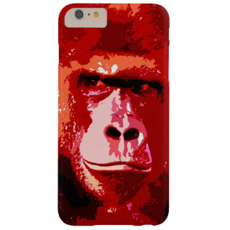 Red Pop Art Gorilla Barely There iPhone 6 Plus Case