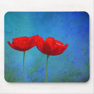 Red Pop Mouse Pad