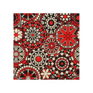 Red Pop Wood Print
