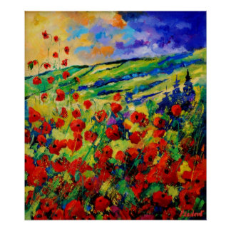 Red poppies 78 posters