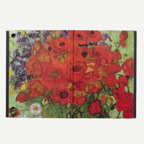 Red Poppies and Daisies by Vincent van Gogh iPad Air Case