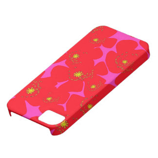 Red Poppies iPhone 5 Covers