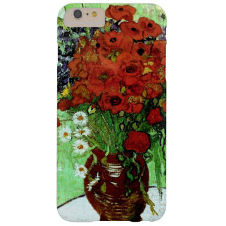 Red Poppies & Daisies (F280)Van Gogh Fine Art Barely There iPhone 6 Plus Case