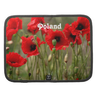 Red Poppies in Poland Planners