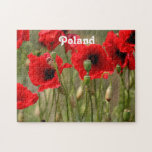 Red Poppies in Poland Puzzles