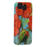 Red Poppies iPhone 4 Case