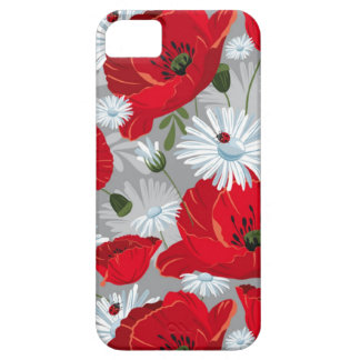 Red poppies iPhone SE/5/5s case