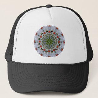Red Poppies Nature, Flower-Mandala Trucker Hat